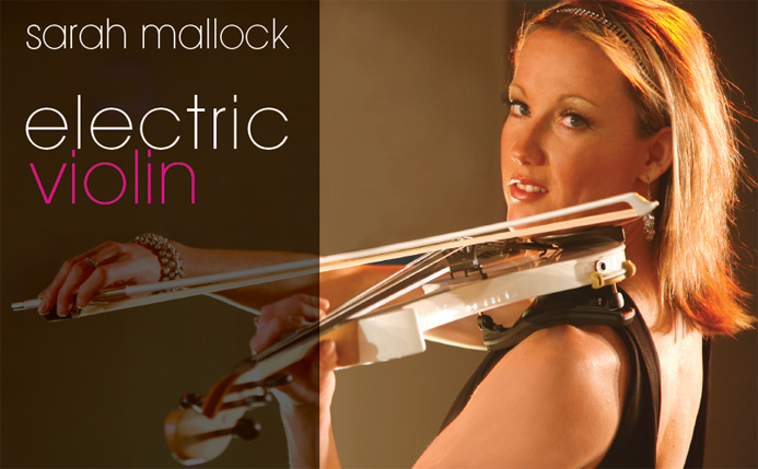 Electric Violinist London – Sarah Mallock – Electric Violin